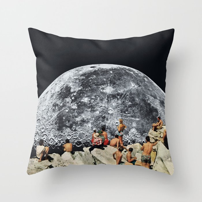 MOONRISE Throw Pillow
