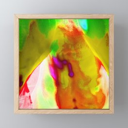 Abstract Color Study 9 Framed Mini Art Print