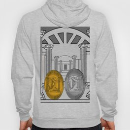Necropolis Coins Gold and Silver 1 Hoody