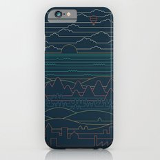 Linear Landscape iPhone 6s Slim Case