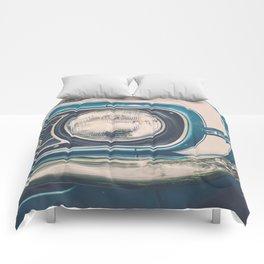 Blue Classic Camaro Comforters