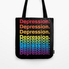 Depression (Rainbow) Tote Bag