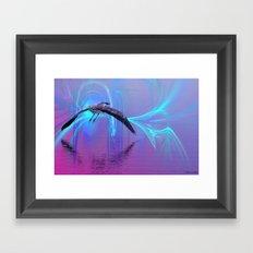 Into The Lagoon Framed Art Print