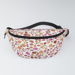 Tangle of Leaves - Autumn Berries Fanny Pack
