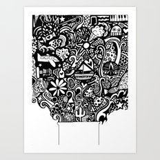 box of goodies Art Print