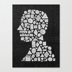 Untitled Silhouette in Reverse. Canvas Print