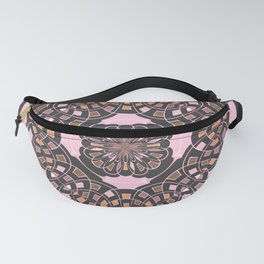 Complex geometric abstract Fanny Pack