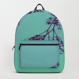 Blue Baby's Breath | Flowers, Real Flowers, Ombre, Gradient, Aesthetic Backpack