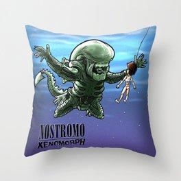 Nirvana : nevermind Throw Pillow