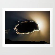 Here Comes The Sun (III) Art Print