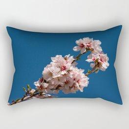 Spring Cherry Tree Blossoms - I Rectangular Pillow