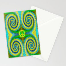 Peace Koru Stationery Cards