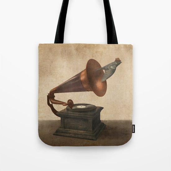 Vintage Songbird - colour option Tote Bag