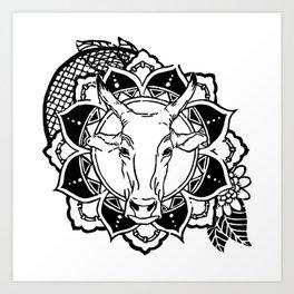 Gaay - ANIMANDALA Art Print