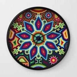 Mexican colors Wall Clock