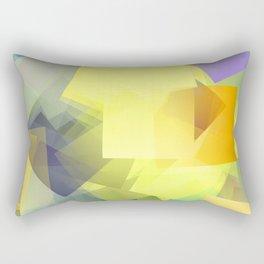 Cubism Abstract 201 Rectangular Pillow