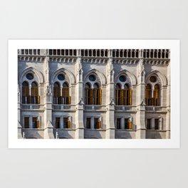 Church Windows Art Print