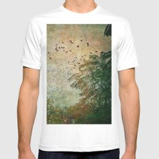 The Birds Mens Fitted Tee White MEDIUM