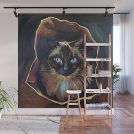 The Ragdoll Cat Is in the Bag Wall Mural