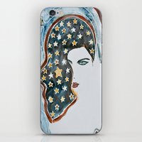 american beauty iPhone & iPod Skins featuring American Beauty by Mona Mansour Jandali