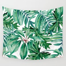 Tropical jungle Wall Tapestry