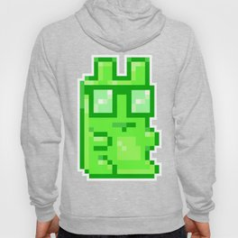 Giant Pixel Gummy Bear Hoody