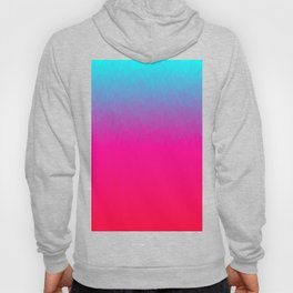 Blue purple and pink ombre flames Hoody