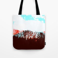 Bright Lights, Big Branches Tote Bag