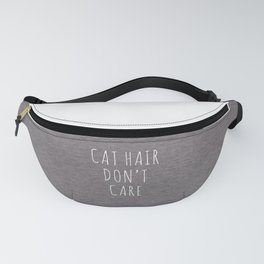 Cat Hair Funny Quote Fanny Pack
