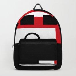 Modern Motorhome English Flag | Gift Backpack