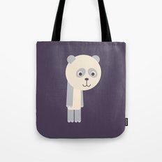 Letter P // Animal Alphabet // Panda Tote Bag