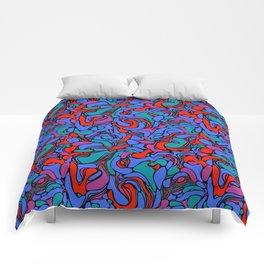 Abstract rave pattern III Comforters