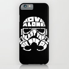 Stormtrooper in typography Slim Case iPhone 6s