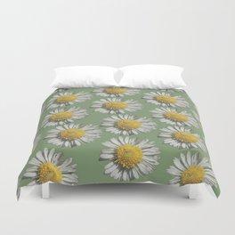 pastel daisy mania Duvet Cover