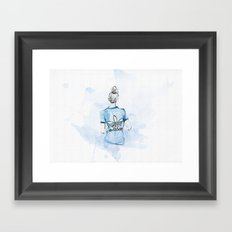 Adidas Girl Framed Art Print