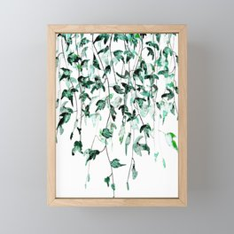 Ivy on the Wall Framed Mini Art Print