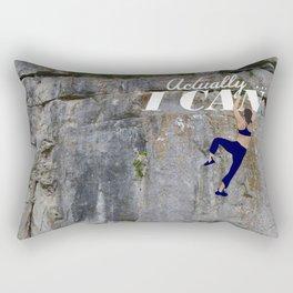 Actually . . . I CAN Rectangular Pillow