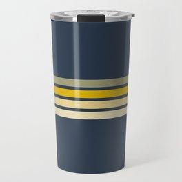 Racing Retro Stripes Travel Mug