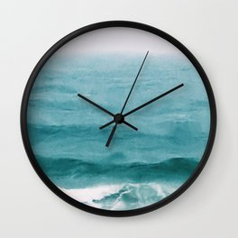 August Breakers Wall Clock