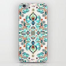 Modern Folk in Jewel Colors iPhone & iPod Skin