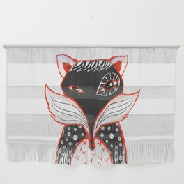 Kaleidoscope Fox Wall Hanging