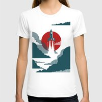 vintage T-shirts featuring The Voyage by Danny Haas