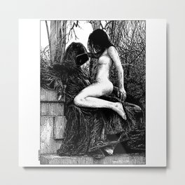 asc 942 - La Française anonyme (Forty nights in quarantine) Metal Print