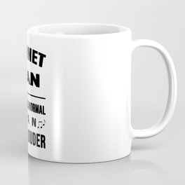 Cornet Man Like A Normal Man Just Louder Coffee Mug