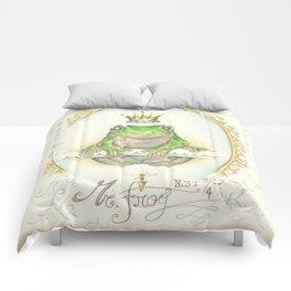 A prince for me.  PrinceFrog Comforters