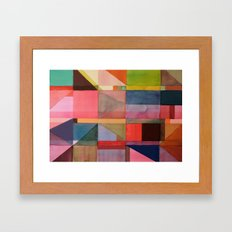 klee words Framed Art Print