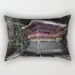 Nikko Shrine Rectangular Pillow