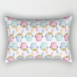 Take Out Noodle Pattern Rectangular Pillow