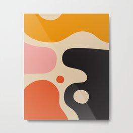 Bahaus abstract art Metal Print
