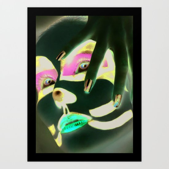 Kiss Peter Art Print
